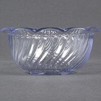 Dinex DXSWC807 8 oz. Clear Tulip Bowl - 48 / Case
