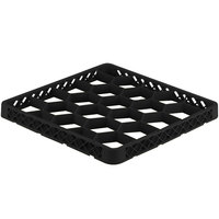 Vollrath TRG-06 Traex® Full-Size Black 20 Compartment Glass Rack Extender