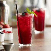 Libbey 15385 / 69292 Fizzazz Restaurant Basics 16 oz. Customizable Tall Mixing Glass - 24/Case