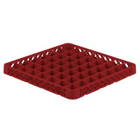 Vollrath TRE-02 Traex® Full-Size Red 49 Compartment Glass Rack Extender