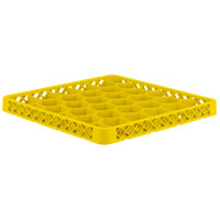 Vollrath TRH-08 Traex® Full-Size Yellow 30 Compartment Glass Rack Extender