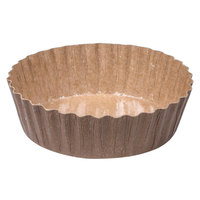 Solut 91068 5.7 oz. Corrugated Kraft Baking Cup with PET Coating   - 50/Pack