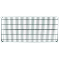 Metro 2454N-DSG Super Erecta Smoked Glass Wire Shelf - 24 inch x 54 inch