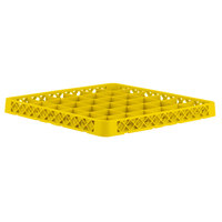 Vollrath TRC-08 Traex® Full-Size Yellow 36 Compartment Glass Rack Extender