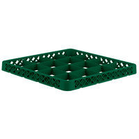 Vollrath TRD-19 Traex® Full-Size Green 16 Compartment Glass Rack Extender