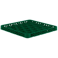 Vollrath TRH-19 Traex® Full-Size Green 30 Compartment Glass Rack Extender