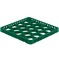 Vollrath TRG-19 Traex® Full-Size Green 20 Compartment Glass Rack Extender