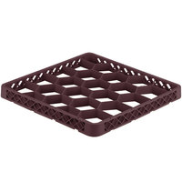 Vollrath TRG-21 Traex® Full-Size Burgundy 20 Compartment Glass Rack Extender