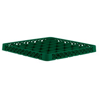 Vollrath TRC-19 Traex® Full-Size Green 36 Compartment Glass Rack Extender