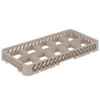 Vollrath HRC Traex Half-Size Beige 10-Compartment 1 3/4 inch Glass Rack Extender