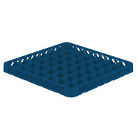 Vollrath TRE-44 Traex® Full-Size Royal Blue 49 Compartment Glass Rack Extender
