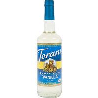 Torani 750 mL Sugar Free Vanilla Flavoring Syrup