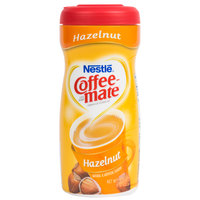 Nestle Coffee-Mate Hazelnut Coffee Creamer Shaker - 12/Case