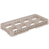 Vollrath HRB1 Traex® Half-Size Beige 8 Compartment Drop Glass Rack Extender