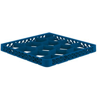 Vollrath TRJ-44 Traex® Full-Size Royal Blue 12 Compartment Glass Rack Extender