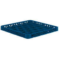 Vollrath TRH-44 Traex® Full-Size Royal Blue 30 Compartment Glass Rack Extender