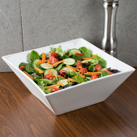 American Metalcraft WFB12 12 inch x 12 inch Square Porcelain Bowl