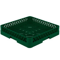 Vollrath TR2 Traex Full-Size Green Flatware Rack
