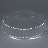 Solut 4016 16 inch Clear Dome Catering / Deli Tray Lid 25/Case