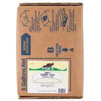Fox's Bag In Box Spicy Cherry Cola Beverage / Soda Syrup - 5 Gallon