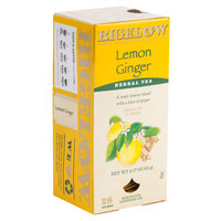 Bigelow Lemon Ginger Herb Tea - 28/Box