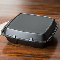 take out containers foam hinged take out containers foam hinged carryout 12074