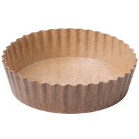 Solut 22078 8 oz. Corrugated Baking Cup with PET Coating   - 40/Pack