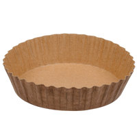 Solut 21088 8 oz. Corrugated Baking Cup with Quick Release Coating - 60/Pack
