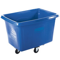 Rubbermaid FG461400BLUE Blue 14 Cu. Ft. Bulk Cube Truck (500 lb.)