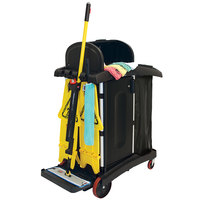 Rubbermaid 1784285 HYGEN Microfiber Janitorial Kit with Rubbermaid PULSE