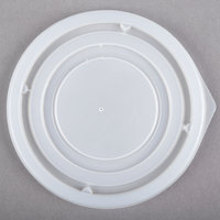 Dinex DX21359000 Translucent Disposable Lid for Aladdin 8 oz. Bowl - 1000/Case