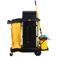 Rubbermaid 1784284 HYGEN Microfiber Janitorial Kit with Charging Bucket