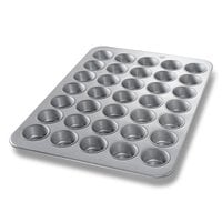 Chicago Metallic 45575 35 Cup Glazed Cupcake / Muffin Pan - 17 7/8 inch x 25 7/8 inch