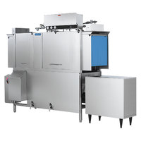 Jackson AJ-66 Single Tank Low Temperature Conveyor Dishmachine - Left to Right, 230V, 3 Phase
