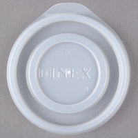 Dinex DXTT65 Translucent Disposable Lid for Royal Legacy 5 oz. Bowl and 8 oz. Mug - 2000/Case