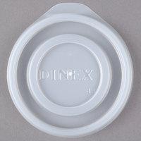 Dinex DXTT65 Translucent Disposable Lid for Royal Legacy 5 oz. Bowl and 8 oz. Mug - 2000/Case