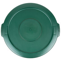 Rubbermaid BRUTE FG260900DGRN Green 10 Gallon Trash Can Lid