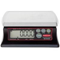 Rubbermaid 1812594 Pelouze 12 lb. Premium Resin Digital Portion Control Scale - Dishwasher Safe