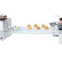 Eastern Tabletop 052414G 24 inch x 14 inch Rectangular Tempered Glass Buffet Shelf