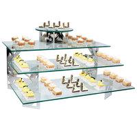 Eastern Tabletop 0507G 33 inch x 7 inch Rectangular Tempered Glass Buffet Shelf