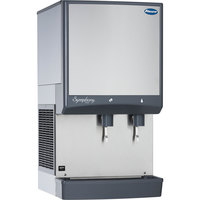 Follett 25CI425A-L Symphony Countertop Air Cooled Ice Maker and Water Dispenser - 25 lb.
