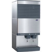Follett 110CT425A-S Symphony Countertop Air Cooled Ice Maker and Water Dispenser - 90 lb.