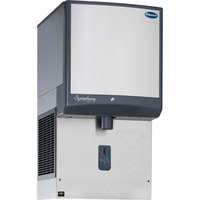 Follett 25HI425A-SI-DP 25 Series Air Cooled Wall Mount Ice Dispenser - 25 lb. Storage