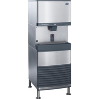 Follett 110FB425A-SI 110 FB Series Freestanding Air Cooled Ice Maker / Dispenser - 90 lb. Storage