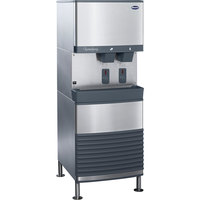 Follett 110FB425W-S 110 FB Series Freestanding Water Cooled Ice Maker and Water Dispenser - 90 lb. Storage