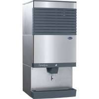 Follett 110CT425A-LI Symphony Plus Countertop Air Cooled Ice Maker / Dispenser - 90 lb.