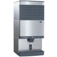 Follett 110CT425A-SI Symphony Plus Countertop Air Cooled Ice Maker / Dispenser - 90 lb.