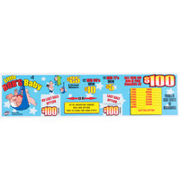 Little Bob's Baby 1 Window Pull Tab Tickets - 600 Tickets Per Deal - Total Payout: $500
