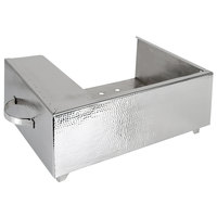 Eastern Tabletop 3264H Hammered Stainless Steel Single Butane Stove Cover-Up