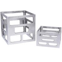 Eastern Tabletop 1740 2-Piece Aluminum Cube Nesting Riser Set